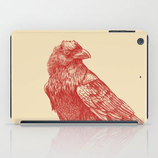 Red Raven  iPad Case