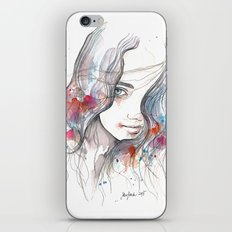 Spring 2015, watercolor iPhone & iPod Skin