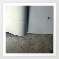 The Last Page Art Print