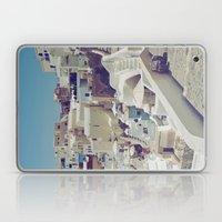 Streets of Santorini II Laptop & iPad Skin