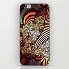 Vintage fractal 1 iPhone & iPod Skin