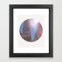 Split Framed Art Print
