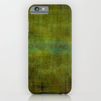 Green Burrows ~ Abstract iPhone 6 Slim Case