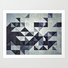 xkyyrr-hyldyrz Art Print