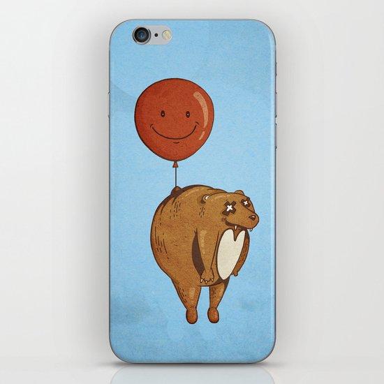 Float On, Bear, Float On iPhone & iPod Skin