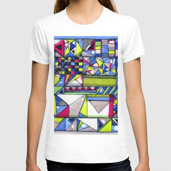 Neon Textures T-shirt