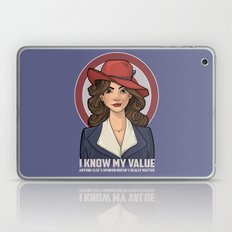 I Know My Value Laptop & iPad Skin