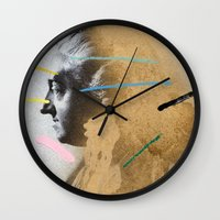 Composition 528 Wall Clock