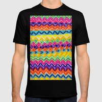 CRAYON LOVE: Cray Tribal Mens Fitted Tee Black SMALL