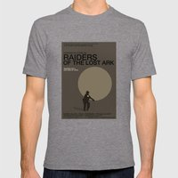 Raiders of the Lost Ark Mens Fitted Tee Tri-Grey SMALL