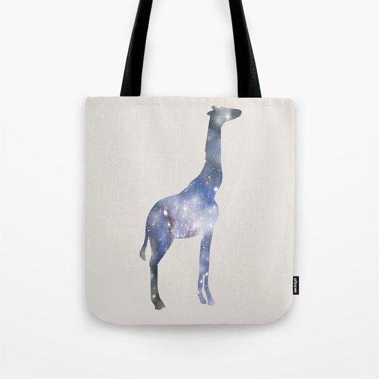 Sky-Giraffe  Tote Bag