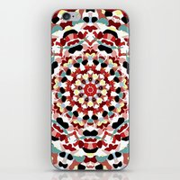 Mandala Number 4 iPhone & iPod Skin