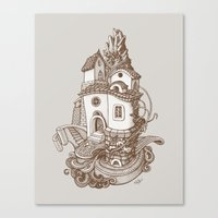 Crystal Mountain - 2 Canvas Print