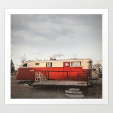 The Spartan Mansion RV A… Art Print
