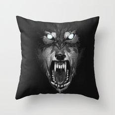 Big Bad Wolf Throw Pillow