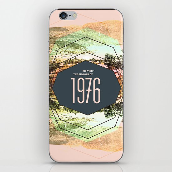 Summer of 1976 iPhone & iPod Skin