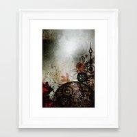 Memories Unlocked Framed Art Print