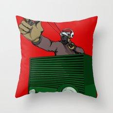 SlingShotta Throw Pillow