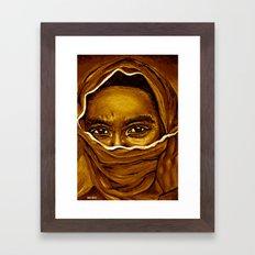 islam style2! Framed Art Print