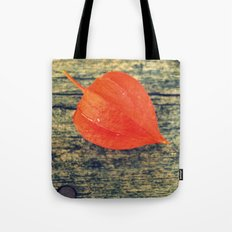 Orange Fall Tote Bag