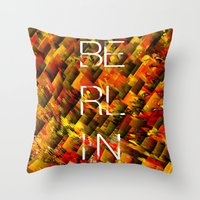 CAMO BERLIN Throw Pillow