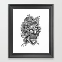 Fright 3 Framed Art Print