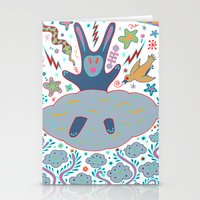 Cloud Rabbit Stationery Cards
