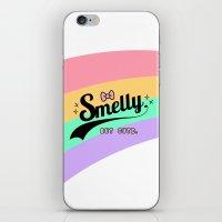 smelly but cute - fairy kei kawaii harajuku iPhone & iPod Skin