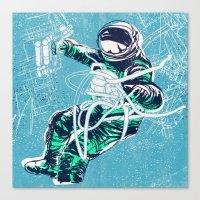 OrbitalFleets Crew Series: No.3 Canvas Print