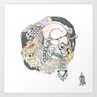 S ( he). Art Print