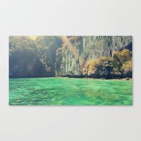 a little touch of paradise Canvas Print