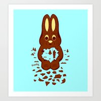 Chocolate Hunting Art Print