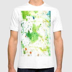 atlas SMALL White Mens Fitted Tee