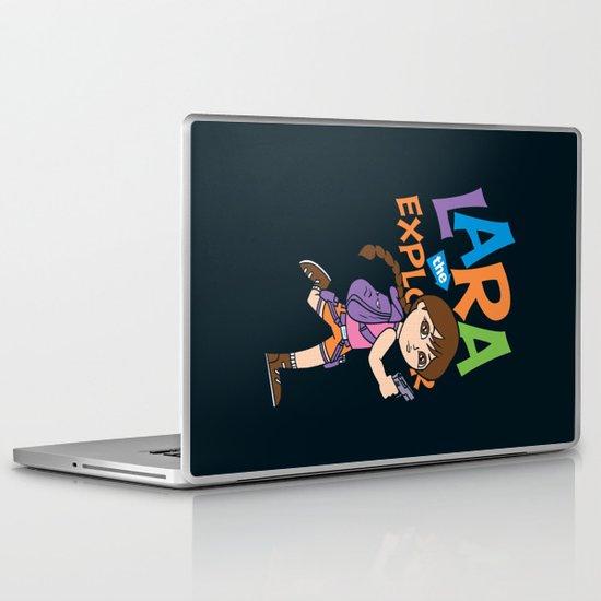 Lara the Explorer Laptop & iPad Skin