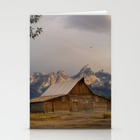 Grand Teton National Park - Mormon Row Moulton Barn Stationery Cards