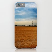 iPhone & iPod Case featuring Wheat Field by VAWPhotography