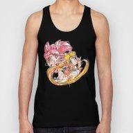Super Sailor Moon & Chib… Unisex Tank Top