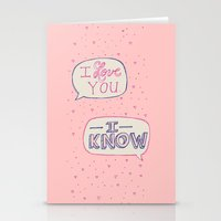 Conceited Valentine Stationery Cards