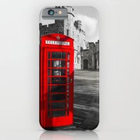 Red Telephone Box at Windsor Castle iPhone 6 Slim Case