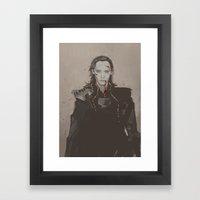 Nothing But The War. Framed Art Print