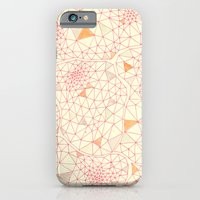 iPhone & iPod Case featuring an abundance of triangular amoebas by Yes Menu