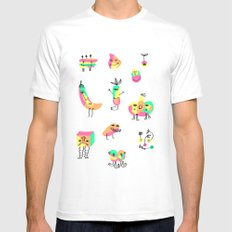 The Strangers SMALL White Mens Fitted Tee