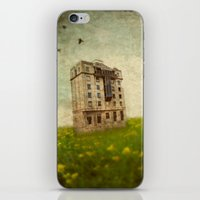 Building in a field iPhone & iPod Skin