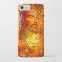 jesus iPhone & iPod Cases featuring Jesus by Saundra Myles