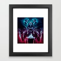 Disney Darth Framed Art Print