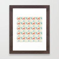 Forest Animals Framed Art Print