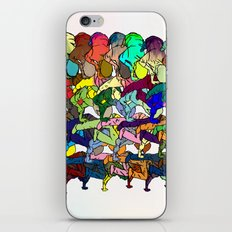 B-Boy in Motion iPhone & iPod Skin
