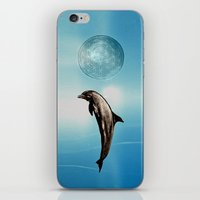 The DOLPHIN - ZEN version iPhone & iPod Skin