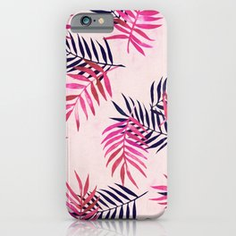 iPhone & iPod Case - Pink Palm Pattern - micklyn