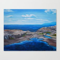 Tee Harbour  Canvas Print